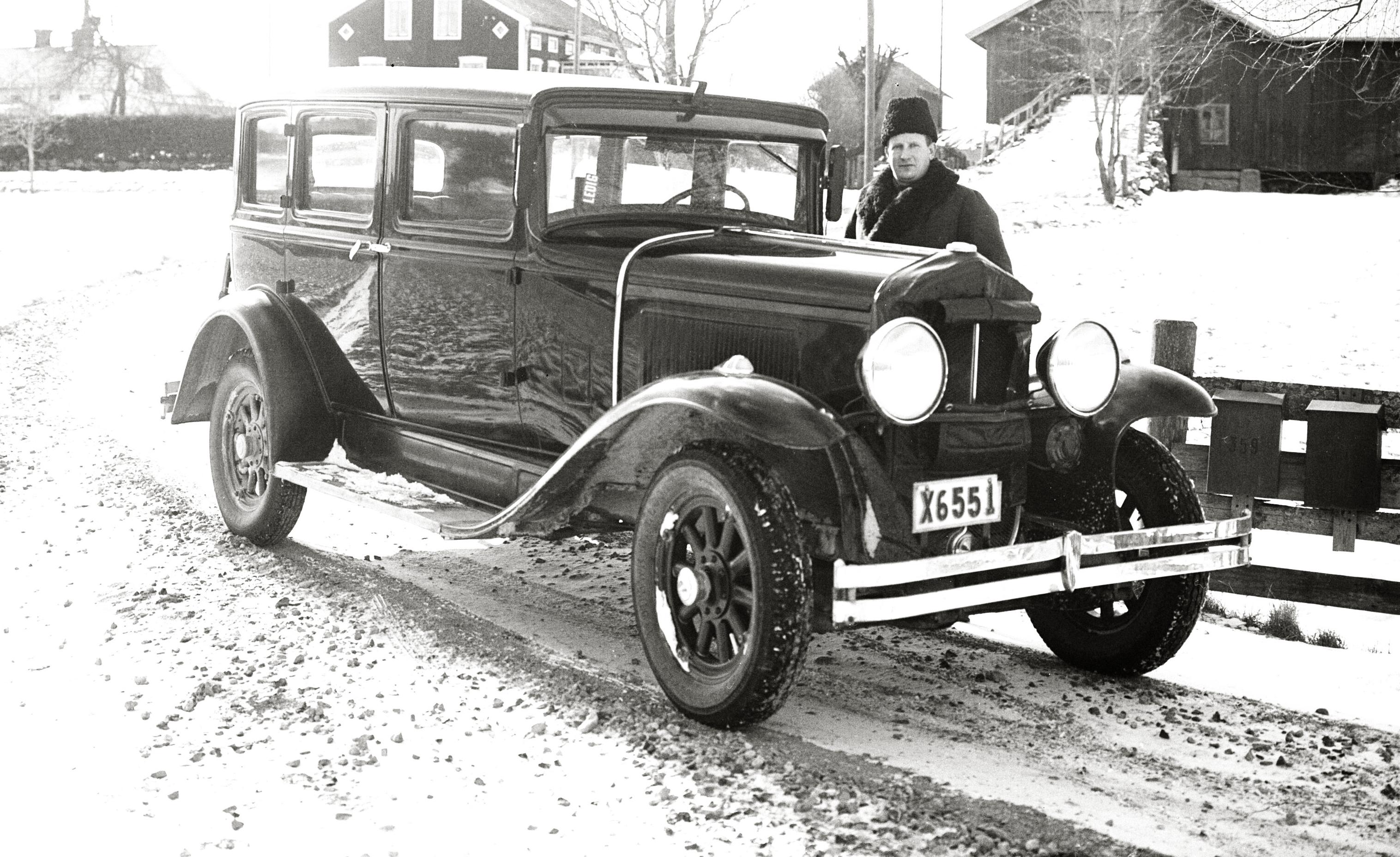 tidigare ägare till ett fordon
